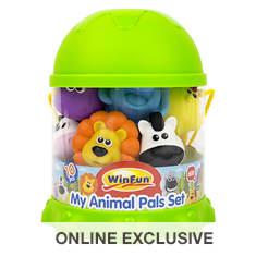 10-Piece My Animals Bath Playset