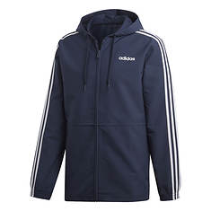 adidas Men's Essentials 3-Stripe Woven Hoodie