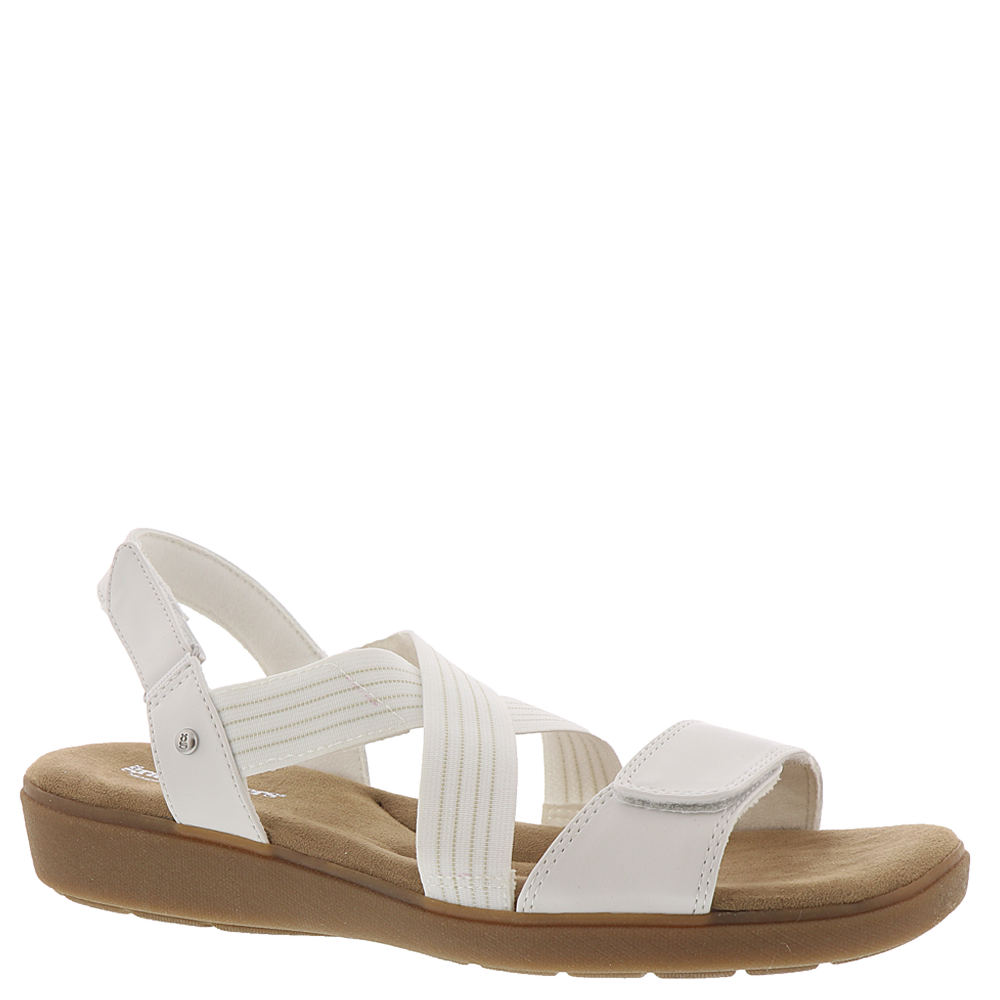*This chic and comfy sandal is perfect for weekend wear *Fabric upper *Padded collar and vamp for added comfort *Hook-and-loop closures for an easy fit *Microfiber lining *MemoryDeluxe™ dual-density Memory footbed *Rubber outsole provides lightweight flexible support *1\\\