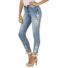 Fringe Embroidered Jean