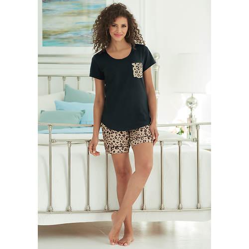Printed Pocket Pajama Set