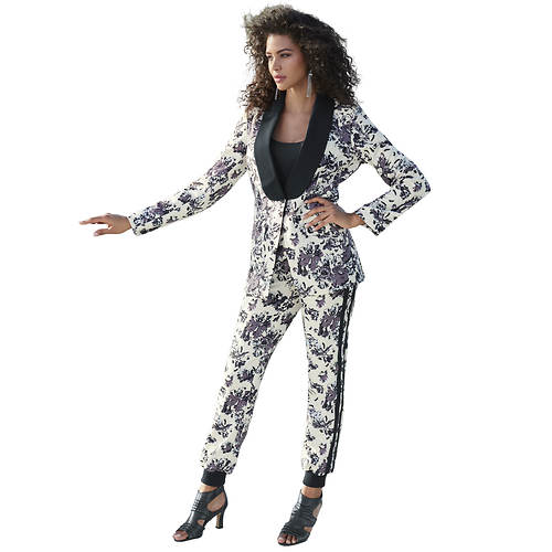 Printed Jogger Suit