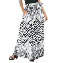 Tie-Front Maxi Skirt