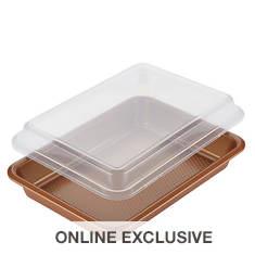 Ayesha Curry 9''x13'' Covered Cake Pan