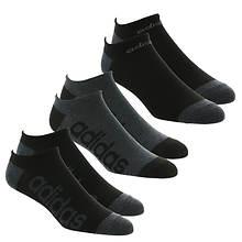 adidas Men's SuperLite Linear 6-Pack No Show Socks