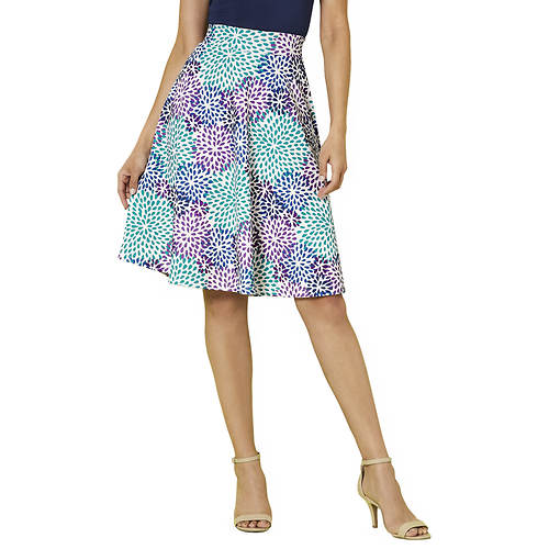 Fit-And-Flare Skirt