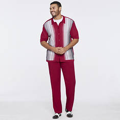 Stacy Adams Men's Gradient Knit Set