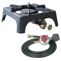 Sportsman Series Single Burner Stove with Regulator Hose