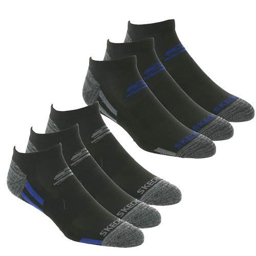 Skechers Men's 6-Pack Low-Cut Socks