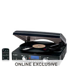 Jensen Digital 3-Speed Stereo Turntable