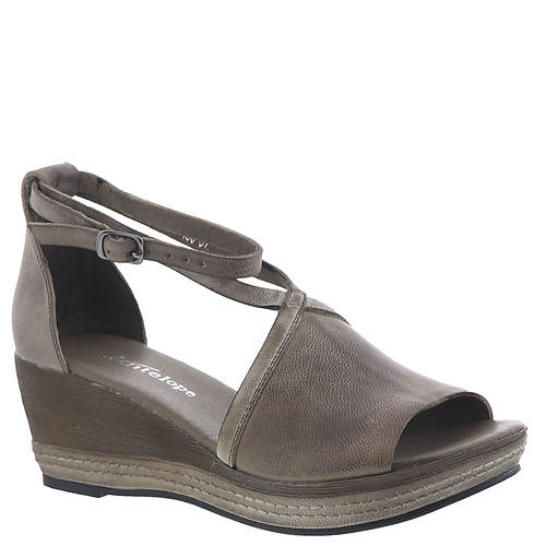 Antelope Ankle Wrap Low Wedge (Women's)