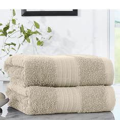 Pure Cotton 2-Pack Bath Sheets