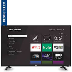 "RCA 50""-Class Roku Smart LED HDTV"