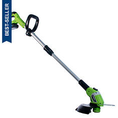 "Earthwise 10"" 20V Cordless Trimmer"