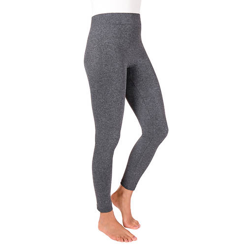 MUK LUKS Women's 1-Pair Marled Leggings
