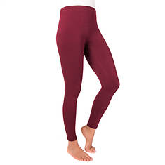 MUK LUKS Women's 1-Pair Fleece-Lined Leggings