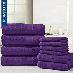 Ultimate Luxury 10-Pc. Ringspun Cotton Towel Set