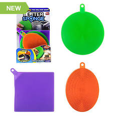 Textured Silicone Sponges 3-Pack