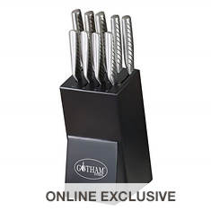 Gotham Steel 10-Piece Knife Set