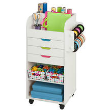 Honey-Can-Do Rolling Arts & Crafts Storage Cart