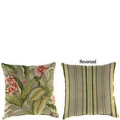 Reversible Throw Pillow