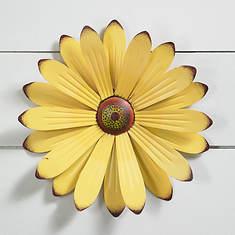 Metal Wall Flower