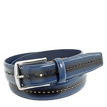Stacy Adams Men's Carnegie 33mm Perforated Belt