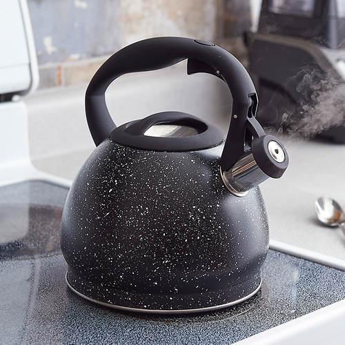 3.2 Qt. Speckled Whistling Tea Kettle