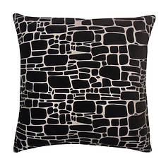 Printed 20''x20'' Faux Fur Pillow