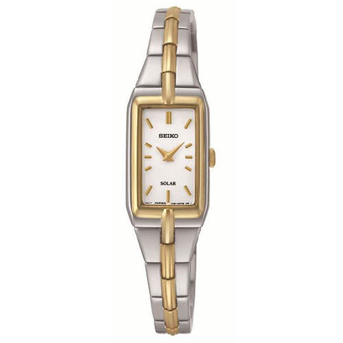 Seiko Solar 2-Tone Watch