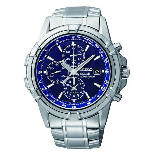 Seiko Solar Chronograph Watch