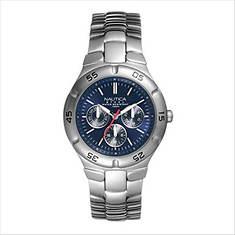 Nautica Stainless Steel Round Watch