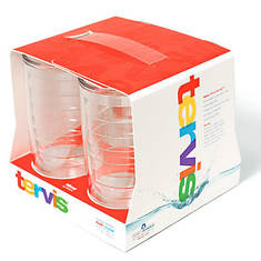 Tervis 16-oz. Clear Tumblers 4-Pack