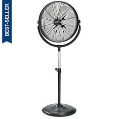"""Comfort Zone 20"""" High-Velocity Stand Fan"""