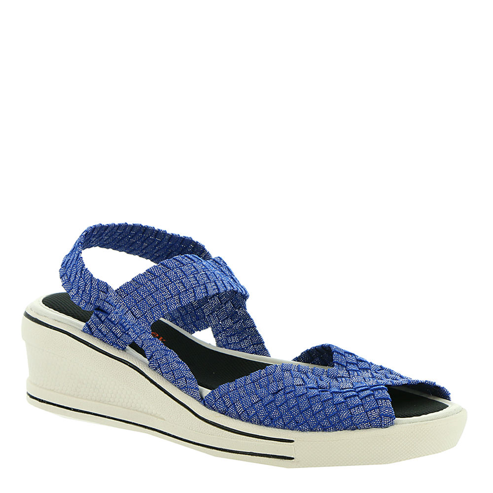 *The essential sandal for when you want to wear the latest trends. and have your comfort too! *Woven fabric upper *Slip-on style *Memory Foam footbed *2-1/2\\\