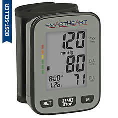 SmartHeart Talking BP Wrist Monitor