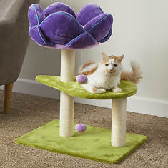Kitty Power Paws Flower Power Cat Tower