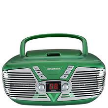 Sylvania Retro Portable CD/AM/FM Boombox