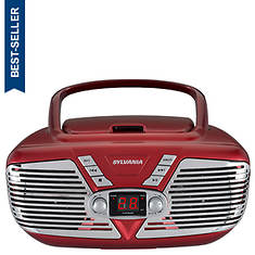 Sylvania Retro Portable CD/AM/FM Boombox