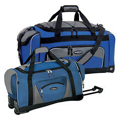 Travelers Club 2-Piece Duffel Set