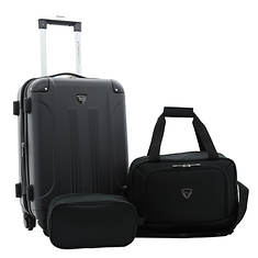 Travelers Club 3-pc. Luggage Set
