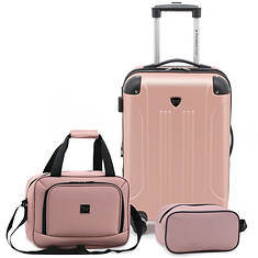 Travelers Club 3-pc. Luggage Set
