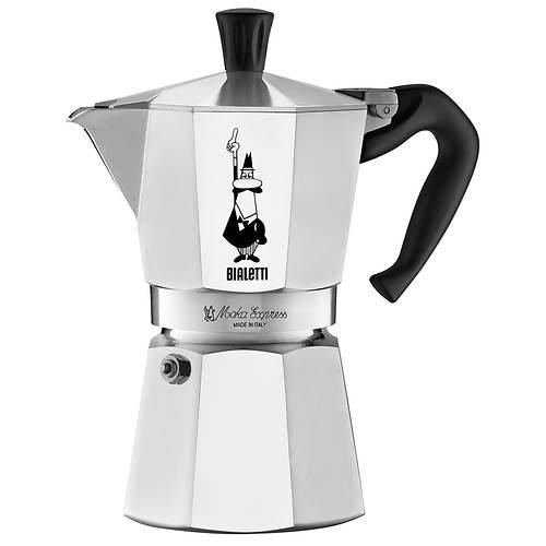 Bialetti Moka Express 6-Cup Espresso Maker