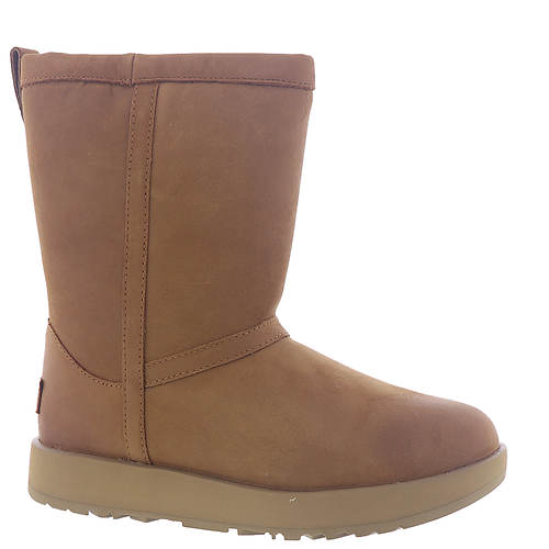UGG® Classic Short Leather Waterproof Boot (Women's)