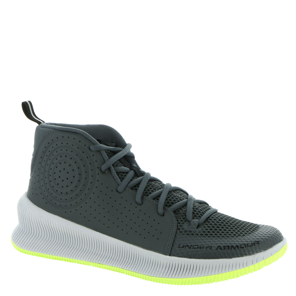 *Leather/mesh sneaker with a molded heel for a locked-in fit *Enhanced collar cushioning *Die-cut EVA footbed *Compression-molded EVA midsole *Durable rubber sole with court traction tread