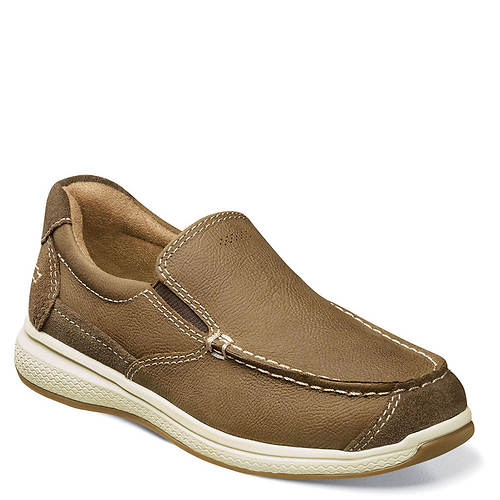 Florsheim Great Lakes Moc Toe Slip-On Jr (Boys' Toddler-Youth)