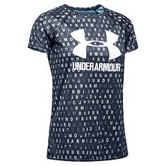 Under Armour Girls' Big Logo Tee Novelty