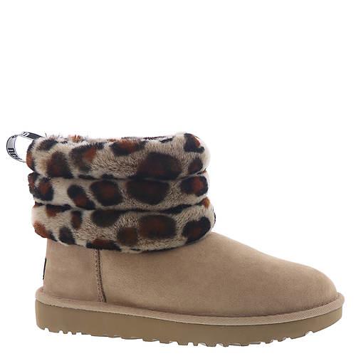 UGG® Fluff Mini Quilt Leopard (Women's)