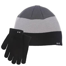 Under Armour Boys' Combo Beanie and Glove Set