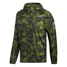 adidas Men's Own The Run Graphic Jacket